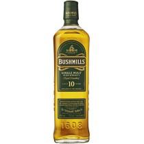 Bushmills Bushmills 10 Years Single Malt Irish Whiskey 40% vol  in Geschenkverpackung