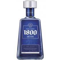 1800 Silver 38% vol  100% Agave Tequila Jose Cuervo 1800