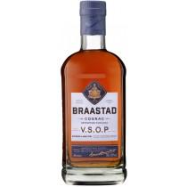 Ets Tiffon SA Braastad Cognac V.S.O.P 40% vol