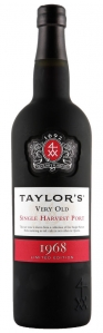 Taylors Single Harvest Port 1967 Taylor´s Port Douro DOC