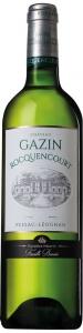 Château Gazin Rocquencourt Blanc Pessac-Léognan AOC Château Gazin Rocquencourt Bordeaux