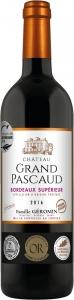 Château Grand Pascaud  Bordeaux supérieur AOP Château Grand Pascaud Bordeaux