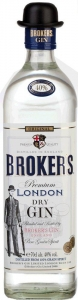 Brokers dry Gin 40% vol. Premium London Dry Gin (1,0l) Brokers