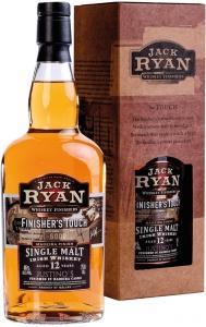 Jack Ryan Finisher's Touch Single Malt Irish Whiskey Aged 12 Years - 40% Vol. Jack Ryan