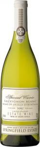 Special Cuvée Sauvignon Blanc Springfield Estate Robertson Valley