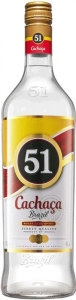 Cachaça 51  40% vol. Zuckerrohrdestillat (1,0l) Companhia Müller de Bebidas