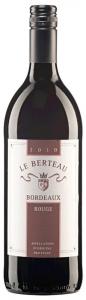 Bordeaux Rouge Le Berteau Bordeaux AOC 2014 Univitis