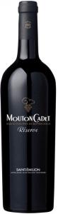 Mouton Cadet Réserve Saint-Emilion AOC Baron Philippe de Rothschild Saint Emilion