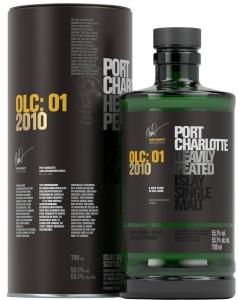 Port Charlotte OLC:01 2010 Islay Single Malt Scotch Whisky 551% vol BRUICHLADDICH DISTILLERY, 0