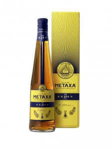 Metaxa 5 Stars 38% vol GP RemyCointreau