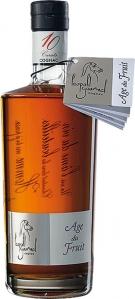 Cognac Âge du Fruit AC,in Geschenkverpackung, mind. 10 Jahre Fassreife Cognac Léopold Gourmel