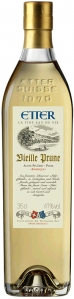 Etter Vieille Prune in Geschenkpackung Alte Schweizer Löhrpflaume, 41% Vol. Etter Söhne AG Distillerie Zug