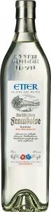 Etter Framboise in Geschenkverpackung Schweizer Himbeergeist, 41% Vol. Etter Söhne AG Distillerie Zug