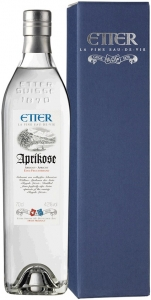 Etter Aprikose Royal Luizet Schweizer Aprikose, 42% Vol., Originalflasche Etter Söhne AG Distillerie Zug