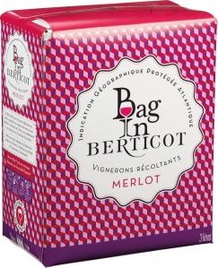 Bag in Berticot Merlot IGP Terre de Vignerons Süd-West