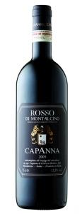 Rosso di Montalcino DOC Capanna Toskana