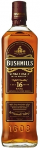 16 Years Single Malt Irish Whiskey 40% vol  in Geschenkverpackung - streng limitiert - Bushmills