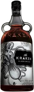 The Kraken Black Spiced 40% vol H&A  Prestige Bottling