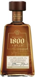 1800 Añejo 38% vol,  100% Agave Tequila  1800