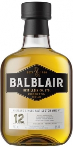 Balblair 12 Years Old Single Malt Scotch Whisky 46% vol in GP  Balblair