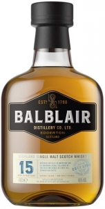 Balblair 15 Years Old Single Malt Scotch Whisky 46% vol in GP Balblair