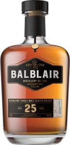 25 Years Old Single Malt Scotch Whisky 46% vol in GP Balblair
