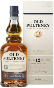 Old Pulteney 12 Years Single Malt Scotch Whisky 40% vol  in GP Old Pulteney