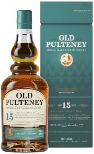 15 Years Single Malt Scotch Whisky 46% vol in GP (NEU) - streng limitiert - Old Pulteney
