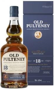 18 Years Single Malt Scotch Whisky 46% vol in GP Old Pulteney