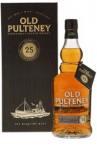 25 Years Single Malt Scotch Whisky 46% vol in GP Old Pulteney