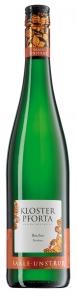 Bacchus Qualitätswein trocken, Kloster Pforta 2013, Saale – Unstrut, Weißwein, Bacchus