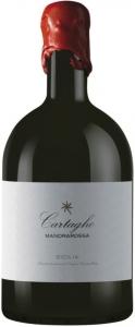 Mandrarossa Cartagho Rosso Sicilia DOC Magnum in Barilottiflasche  Settesoli / Mandrarossa Sicilia