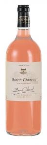 Baron Charcot rosé Vin de Pays de l'Herault Les Vins de Saint Saturnin Pays d'Oc