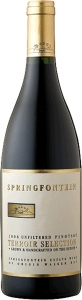 Pinotage Terroir Selection Estate Wine of Origin Walker Bay Springfontein Paarl