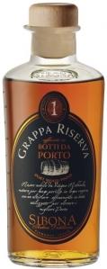 Sibona Grappa Riserva Botti da Porto 40% vol  in GP Distillerria Sibona