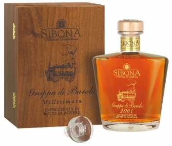 Sibona Grappa di Barbera 40% vol Distillerria Sibona