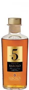 Sibona Grappa di Barolo Invecchiata 5 Anni 44% vol in GP Distillerria Sibona