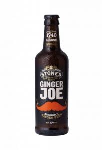 Ginger Joe Alcoholic Ginger Drink 4% Vol. Stone´s of London