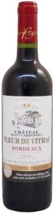 Château Haut Cardonnet Fleur de Vitrac AOC  Château Haut Cardonnet Bordeaux