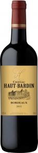 Château Haut Bardin Bordeaux rouge AOC Château Haut Bardin Bordeaux