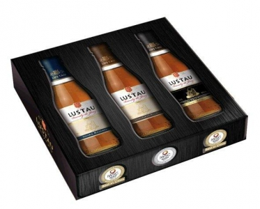 Emilio Lustau Brandy Trio Solera je 1x0,2l 40%vol. : Solera Reserva, Solera Gran Emilio Lustau Brandy de Jerez