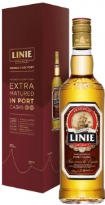 Linie Aquavit Double Cask Port 41,5% vol in GP Arcus AS