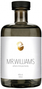 Mr. Williams finest williams christ pear brandy Bonner Manufaktur Deutschland