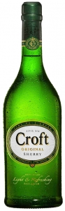 Croft Original Sherry Fine Pale Cream Sherry Croft Jerez