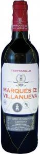 Tempranillo Marqués de Villanueva Carińena DO Grandes Vinos y Vińedos Cariñena