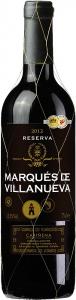 Tempranillo Marqués de Villanueva Reserva Carińena DOP Grandes Vinos y Vińedos Cariñena