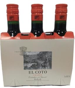 Miniflaschen El Coto Crianza Rioja DOCa (0,187l) El Coto de Rioja Rioja