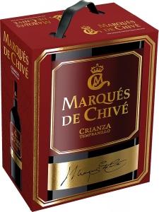 Marqués de Chivé Crianza Tempranillo Bag in Box Vicente Gandia Utiel-Requena