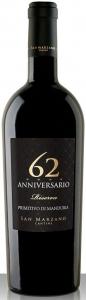 62 Anniversario Primitivo di Manduria Riserva DOC Feudi di San Marzano Apulien
