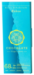 Virgin Cacao Schokolade – Kokos Chocqlate